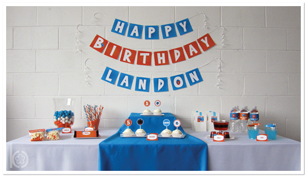 Monster Birthday Party Printables