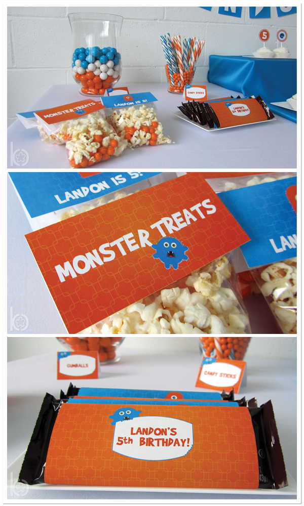 Monster Birthday Party Decor