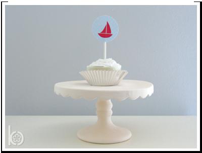 Printable Cupcake Topper