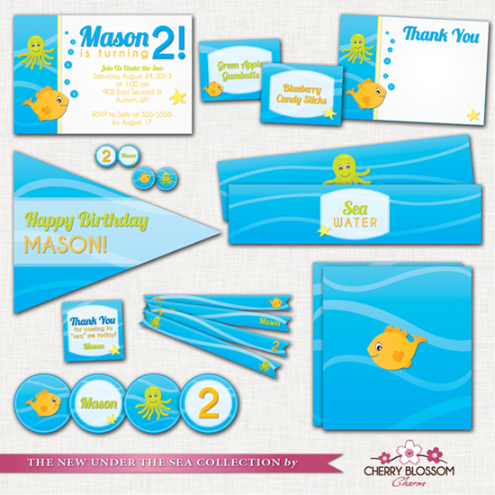 Under the Sea Party Printables