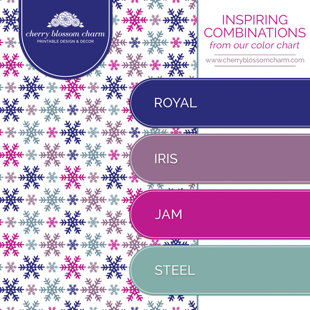 Color Combinations Charming Printables