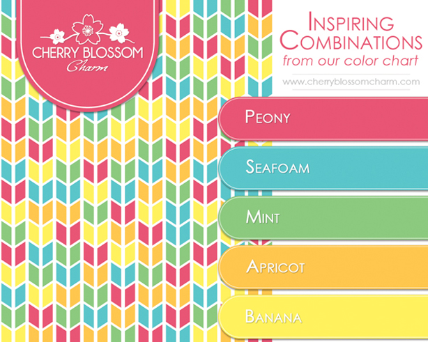 Color Combinations – Cherry Blossom Charm