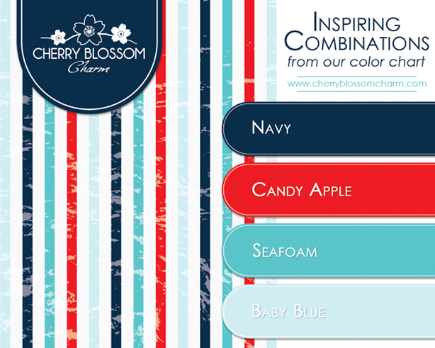 Color Combinations - Cherry Blossom Charm